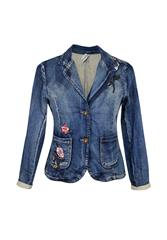 MADE IN ITALY DENIM JACKET - BLUE