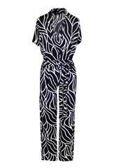 JOLIE BAM BAM BLACK AND WHITE PRINT JUMPSUIT