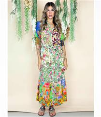 RYY GABOR PRINT MAXI DRESS