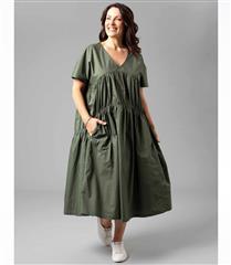 YARRA TRAIL SHORT SLEEVE TIERED DRESS