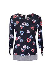 GERRY WEBER BLOUSE - MULTI COLOUR