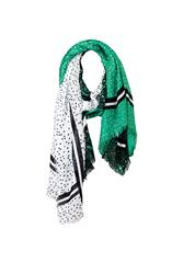 GERRY WEBER SCARF - GREEN BLACK