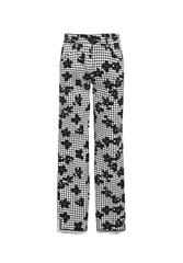 GERRY WEBER TROUSERS - BLACK MULTI
