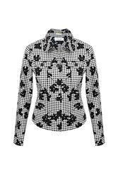 GERRY WEBER JACKET - BLACK MULTI