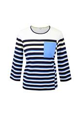 GERRY WEBER L/S TOP - BLUE MULTI