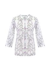 GERRY WEBER BLOUSE - WHITE MULTI