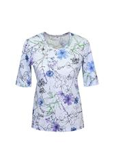 GERRY WEBER TOP - BLUE MULTI