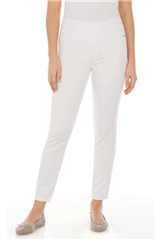 FRENCH DRESSING JEANS WHITE D-LUX PULL ON PANTS