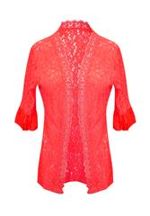 MADE IN ITALY RED LACE KIMONO