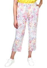 GERRY WEBER WHITE MULTI TROUSERS