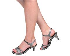 STACCATO PEWTER SANDAL