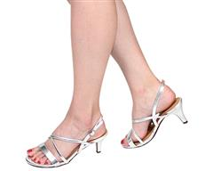 STACCATO SILVER SANDAL