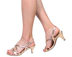 STACCATO ROSE GOLD SANDAL