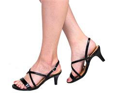 STACCATO BLACK SANDAL