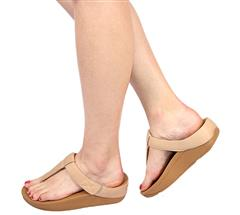 FIT FLOP BEECHWOOD LEATHER ADJUSTABLE SANDAL - MINA
