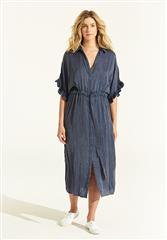 ONESEASON NAVY JASMINE DRESS