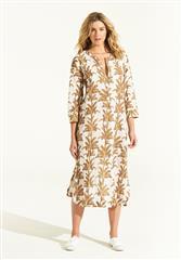 ONESEASON WHITE PALMA CRUISE DRESS