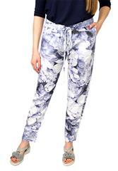 CAROL ZEE BLUE PRINT PANTS