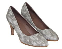 SOFT STYLE TAUPE HEEL - NERIAH