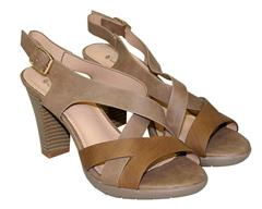 SOFT STYLE TAUPE EVE SANDAL
