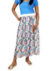 MADE IN ITALY MULTI COLOUR PRINTED SKIRT