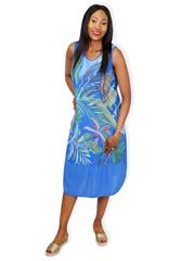 MADE IN ITALY ROYAL TROPICAL DRESS