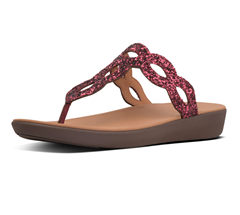 FIT FLOP LINGONBERRY KERSTIN TOEPOST