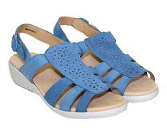 HOTTER  BLUE SANDAL - ATHENS