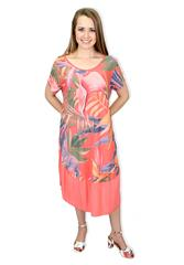 MADE IN ITALY CHERIE MULTI FLORAL DRESS