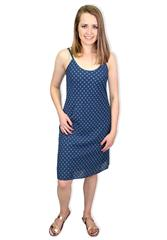 MADE IN ITALY NAVY REVERSIBLE DRESS