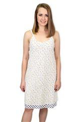 MADE IN ITALY WHITE REVERSIBLE DRESS