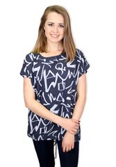 MADE IN ITALY TOP - BLUE