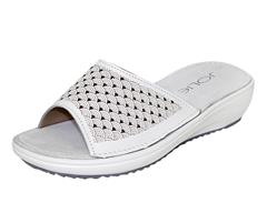 JOLIE WHITE SLIP ON