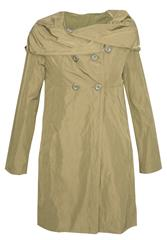 MADE IN ITALY BEIGE SWING TRENCH COAT