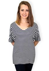 MADE IN ITALY BLACK STRIPE TEE
