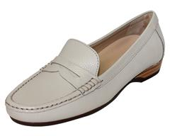 HUSH PUPPIES BEIGE REONATA MOCCASIN