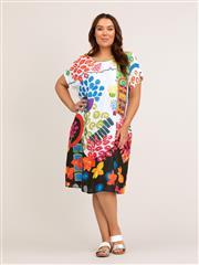 YARRA TRAIL PRINT DRESS