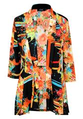 JOLIE MULTI COLOUR PRINTED REGAL JACKET