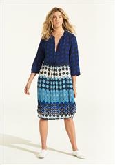 ONESEASON BLUE BERMUDA PAPPY DRESS