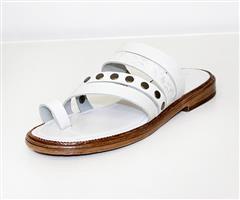 FROGGIE WHITE SANDAL - 11958