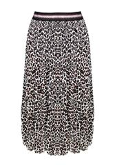 MADE IN ITALY LEOPARD SKIRT