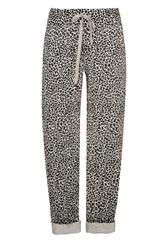 MADE IN ITALY LEOPARD PRINT TROUSERS
