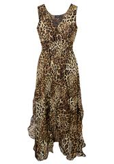 JOLIE LEOPARD DRESS