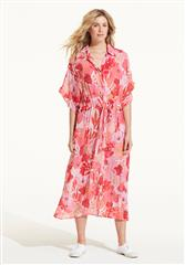 ONESEASON CORAL VALENCIA JASMINE DRESS