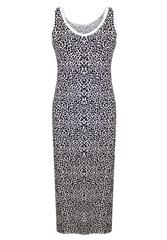 MADE IN ITALY LONG LEOPARD DRESS