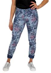 MADE IN ITALY FLORAL MULTI REVERSIBLE JEANS