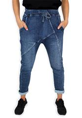 MADE IN ITALY BLUE FASHION HAREM JEANS