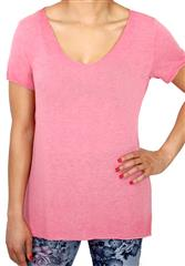 MADE IN ITALY DARK PINK TEE
