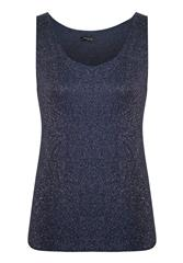 MADE IN ITALY NAVY TOP