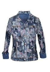 MADE IN ITALY MULTI COLOUR PRINT REVERSIBLE JACKET